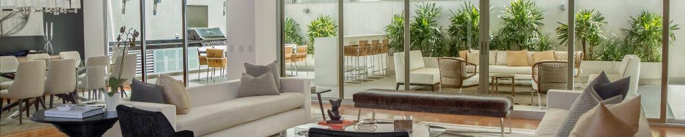 decoración de comedor salon moderno