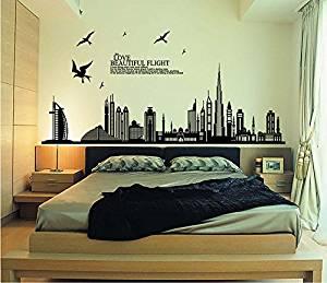 Vinilos decorativos para dormitorios y habitaciones